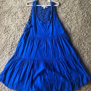 American Eagle blue dress XS